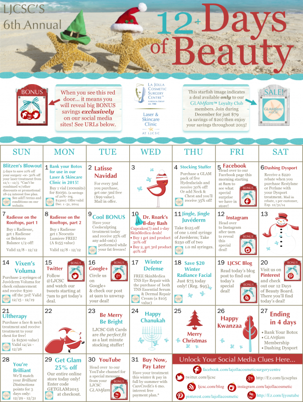 12 days of beauty calendar r5 large